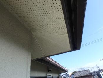 軒天井 汚れ 施工前 徳島県 吉野川市