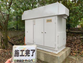 FM徳島80.7様 キュービクル式高圧受電設備