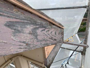 破風 劣化 施工前 徳島県