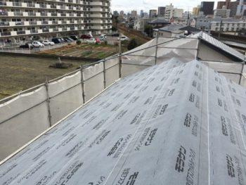 徳島県 屋根 防水シート 張替え
