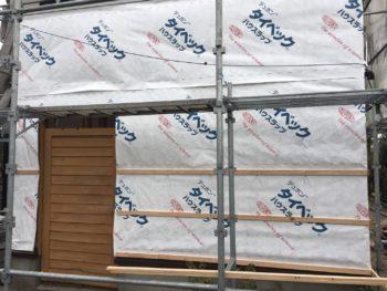 徳島 国府 耐水シート 貼りつけ