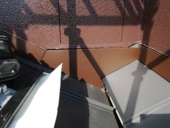 屋根 隙間 板金 カバー 徳島県