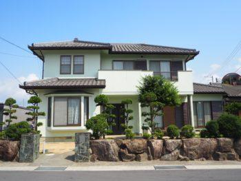 徳島県吉野川市 汚れが付きにくく付着しにくい外壁塗装 G様邸