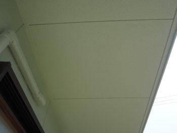 徳島県 吉野川市 施工後 軒天井