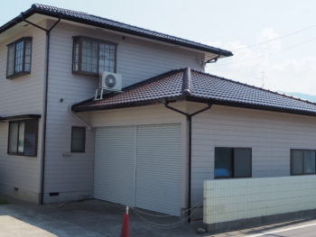 徳島県小松島市 外壁屋根塗装 施工事例