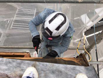 屋根 野地板 除去 徳島県
