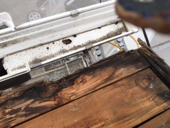 屋根 木材 劣化 徳島県 施工前