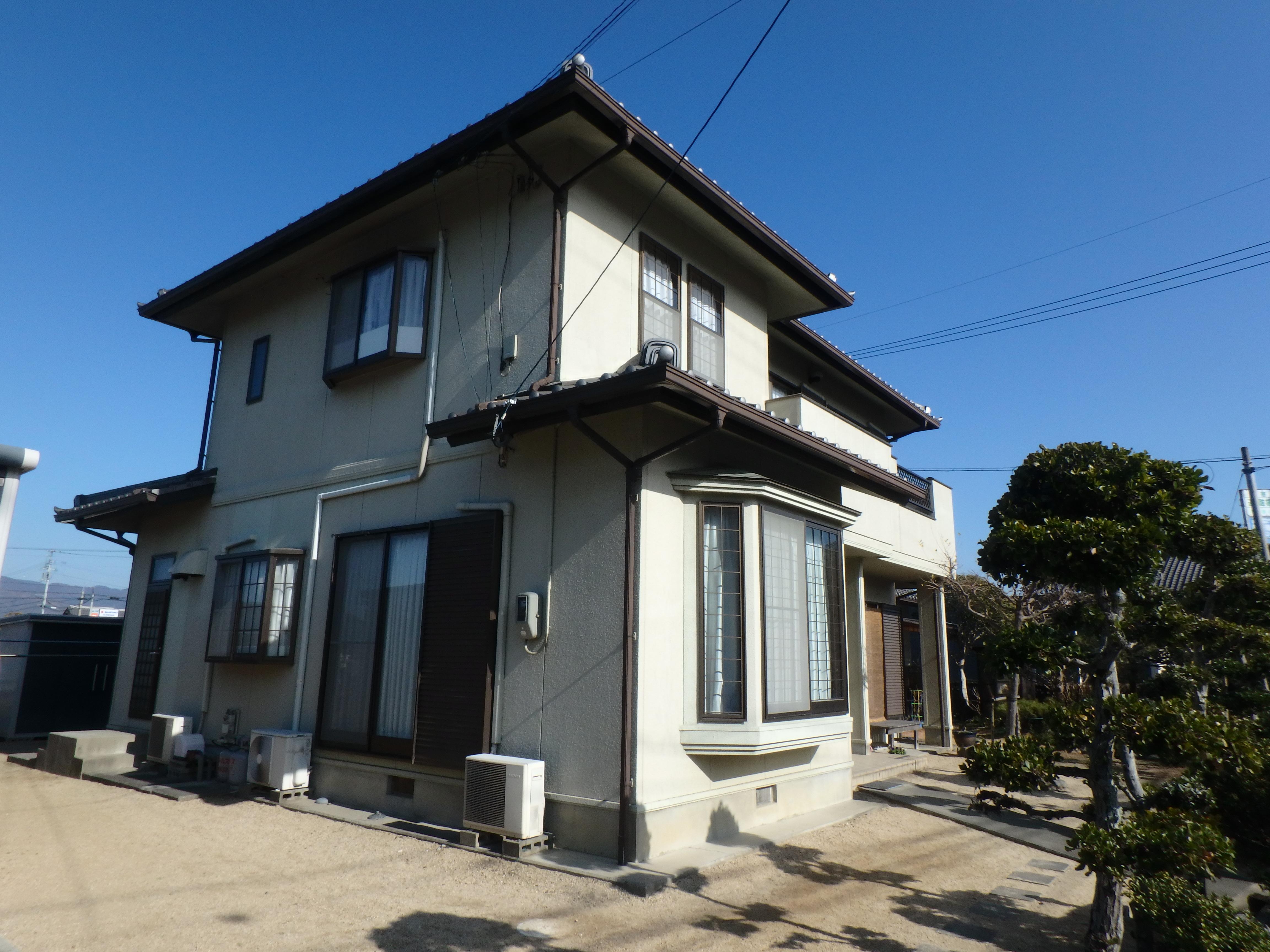 住宅 全体 施工前 徳島県 吉野川市