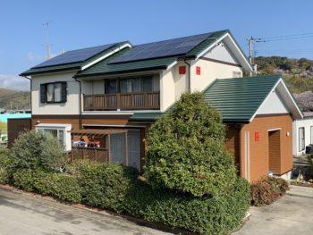 徳島県阿南市 木部外壁と金属外壁の施工 K様邸
