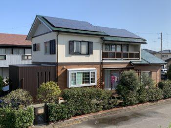 施工後 住宅 全体 徳島県阿南市 塗装