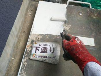 鉄扉 塗装 徳島県