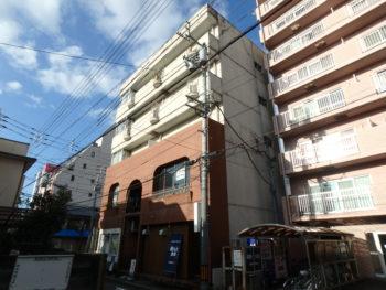 徳島県 徳島市 ビル 施工前 裏面