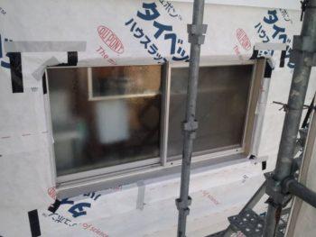 徳島県 ガルバリウム鋼板 外壁工事 透湿防水シート マンション