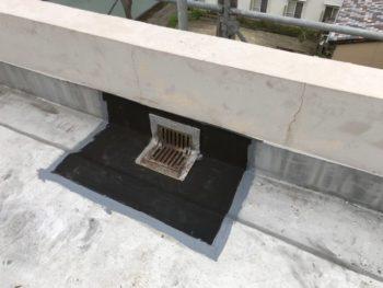 徳島県 マンション 屋上 シート防水 補修