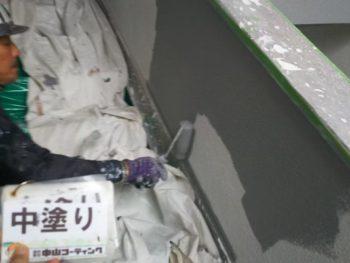 塗装 階段室 手摺 徳島県 徳島市