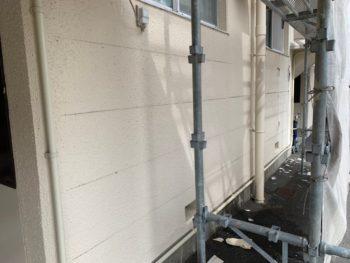 施工前 ガルバリウム鋼板 外壁工事 徳島