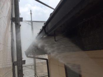 洗浄 雨樋 徳島県