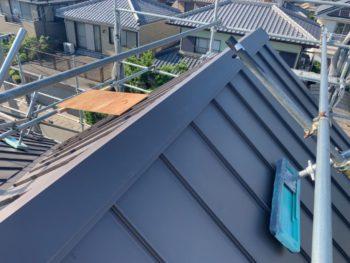 屋根 板金工事 ガルバリウム鋼板 全体 徳島県