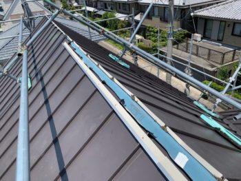 屋根 板金工事 ガルバリウム鋼板 徳島県 石井町