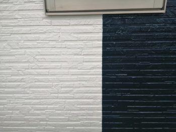外壁 塗装後 上塗り 徳島 上八万