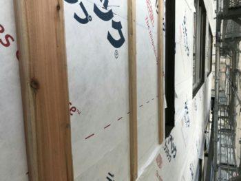 外壁 張り替え 胴縁 店舗 徳島県
