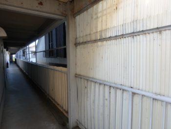 施工前 マンション 廊下 徳島県 八万町