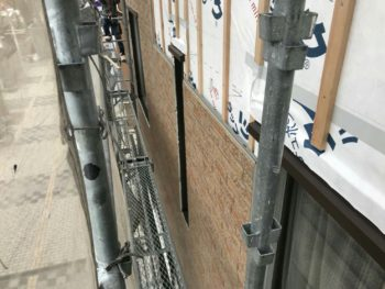 徳島 店舗 壁面 張り替え タイル調