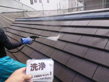 洗浄 屋根 瓦 苔 徳島県