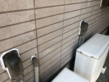 室外機カバー シーリング 施工後 徳島県 徳島市