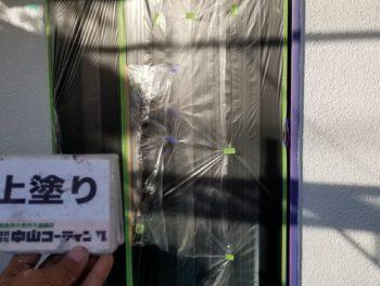 外壁 塗装後 上塗り 徳島県 国府
