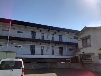 施工後 裏面 全体 マンション 徳島県