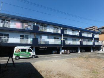 施工後 全体 正面 徳島県 八万町