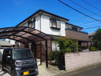 徳島市国府町 塗装施工例 ダイヤカレイド・無機塗料