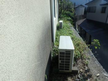 施工前 外壁 汚れ 徳島県 八万町