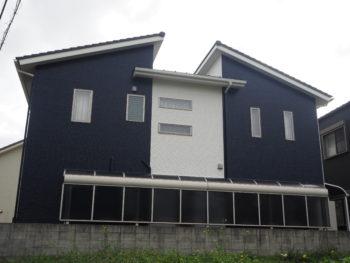 施工後 裏面 全体 徳島県 上八万町