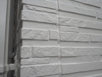 施工後 外壁 白 アップ 徳島県