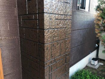 徳島県 阿南市 施工後 柱