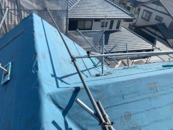 屋根 板金工事 ルーフィング 全体 徳島県
