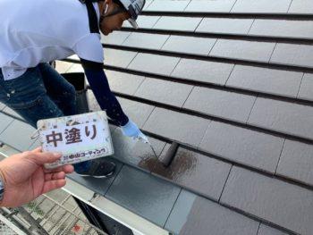 屋根 塗装 徳島県 上八万