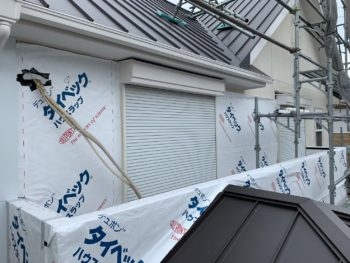 外壁 防水シート 張り替え 徳島県 石井町