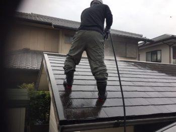 洗浄 屋根 離れ 徳島県 石井町