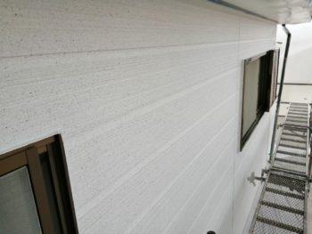 外壁 塗装後 上塗り 吹き付け 徳島県