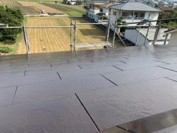 屋根 塗装後 徳島県 上八万