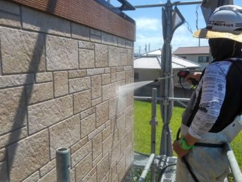 外壁 サイディング 洗浄 徳島県 阿南市