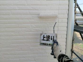 外壁 塗装 上塗り 徳島 上八万