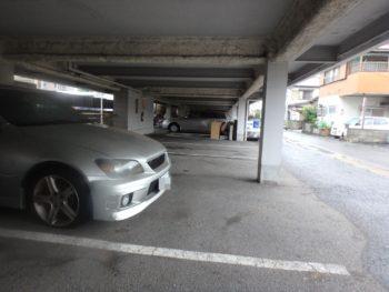 施工前 マンション 駐車場 徳島県 八万町
