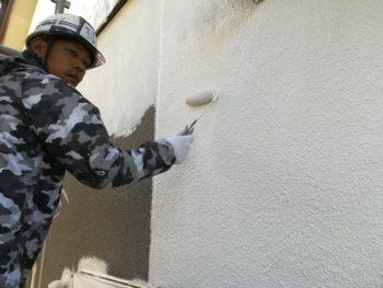 外壁 塗装 下塗り 徳島県 国府
