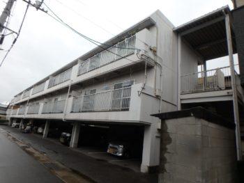 施工前 マンション 正面 徳島県 八万町