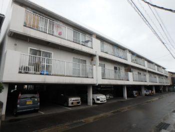 施工前 マンション 正面 別角度 徳島県 正面 別角度