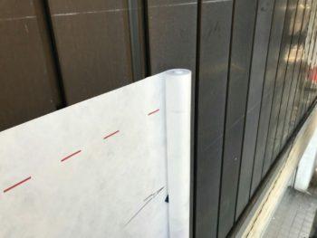 徳島県 店舗 外壁 張り替え 防水シート